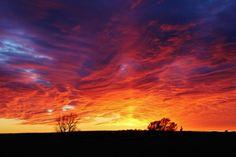 Kansas Sunset - Pratt County, Kansas