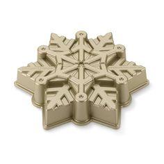 Nordic Ware Pull-Apart Snowflake Cake Pan #williamssonoma