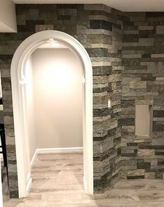 Blog | Airstone Airstone Backsplash, Building Materials, Oversized Mirror, Building A House, Sweet Home, Interior Design, Stone Walls, Basement Ideas, Fireplaces