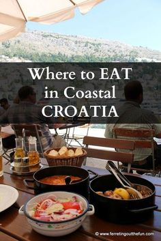 The Best Meals We Ate in Croatia Ferreting Out the Fun : I spent two weeks driving up the coast of Croatia, eating heartily as I went. Here are the best restaurants I found, from Dubrovnik to Rovinj. Pula, Montenegro, Budapest, Les Balkans, Travel Photographie, Croatia Travel Guide, Croatia Itinerary, Visit Croatia, Croatia 2016