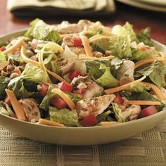 Chicken Taco Salad.  Sweet low carb thing!!!