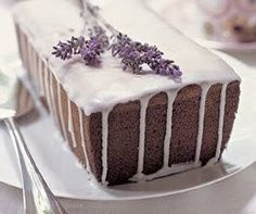 Adventures with Food: Honey Lemon Cake, with Lavender Icing