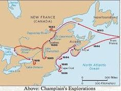 map of coureurs de bois - Google Search