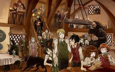 cool! it has almost everyone from   Harry potter! can you think of what   everyone might be talking/thinking about? =] do a short story in your comments!
