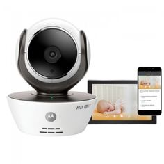 Motorola MBP85 Connect HD Wi-Fi Video Baby Monitor Camera