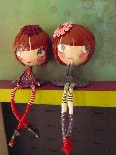 Zélie et Célestine  : Accessoires de maison par misstarlatane sur ALittleMarket