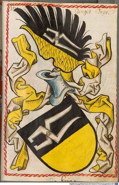 Scheibler'sches Wappenbuch Süddeutschland, um 1450 - 17. Jh. Cod.icon. 312 c  Folio 259