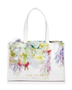 e3b94dd879b07 Ted Baker Hanging Garden Icon Tote With Flip Flops