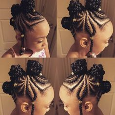"948 Likes, 20 Comments - The Nubian Crown Kids (@thenubiancrownkids) on Instagram: ""✨ #Hairinspo #kidshairstyles #THENUBIANCROWN """