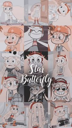 Cartoon Wallpaper Iphone, Disney Phone Wallpaper, Cute Cartoon Wallpapers, Cartoon Pics, Aesthetic Iphone Wallpaper, Star Vs Les Forces Du Mal, Star Vs The Forces Of Evil, Butterfly Wallpaper, Galaxy Wallpaper