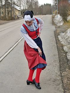 Folk Costume, Costumes, Finland, Folk Clothing, Clothes, Embroidery, Collection, Outfits, Clothing