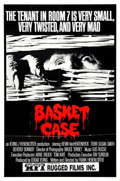 Basket Case Classic Horror Movie Wall Art — MUSEUM OUTLETS  #basketcase   #horrormovieposters #classic