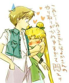 Usagi, Haruka (#Usagi #Serenity #Sailor Moon #Haruka #Sailor Uranus)