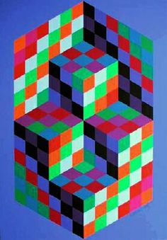Victor Vasarely                                                                                                                                                     Plus