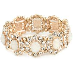 BaubleBar Opal Bloom Bracelet ($32) ❤ liked on Polyvore