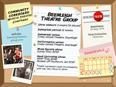 Beenleigh Theatre Group - Community Corkboard interview on amywinner.com Musical Theatre Shows, Saturday Night Show, Theatre Auditions, Theatre Group, Educational Programs, Sound Of Music, Musicals, Encouragement, Interview