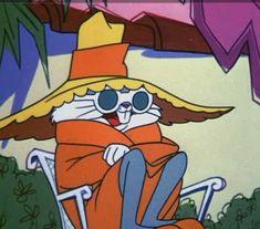 Bugs Bunny in disguise, hiding from the 'Hunter' Elmer Fudd' Cartoon Icons, Cartoon Memes, Cartoon Art, Looney Tunes Cartoons, 90s Cartoons, Daffy Duck, Disney Wallpaper, Cartoon Wallpaper, Bux Bunny