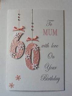 Personalised #handmade birthday card  18th 21st 30th etc mum #sister nan #friend.,  View more on the LINK: http://www.zeppy.io/product/gb/2/320916970434/