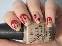 10 Spooky Halloween Nails   Family Style