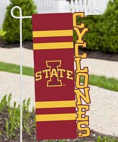 Iowa State Cyclones Sculpted Garden Flag #zulily #zulilyfinds