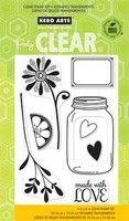 Love Jar Clear Stamp Set