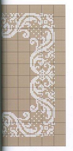 This Pin was discovered by zeh Cross Stitch Borders, Cross Stitch Flowers, Cross Stitch Charts, Cross Stitch Designs, Cross Stitching, Cross Stitch Embroidery, Embroidery Patterns, Hand Embroidery, Cross Stitch Patterns