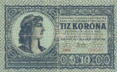 10 Крон (1919) Венгрия (Hungary) Европа Hungary, Personalized Items, World, Coining, The World, Earth