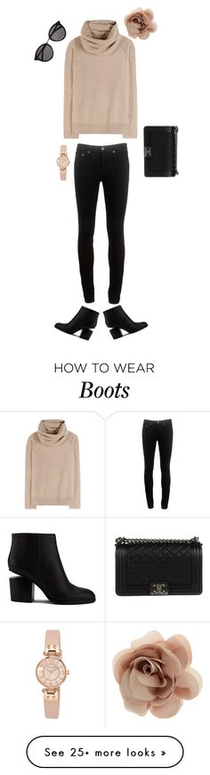 """""""Never be afraid of the unknown"""" by abigaillieb on Polyvore featuring rag & bone, Loro Piana, Alexander Wang, Chanel, Anne Klein, Yves Saint Laurent and Accessorize"""