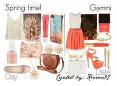 """Gemini - Polyvore"" by blueofsymphony ❤ liked on Polyvore featuring maurices, Jane Norman, Nine West, Forever 21, Aéropostale, Gerard Yosca, Penny Sue, Oasis, Butter London and Fornash"