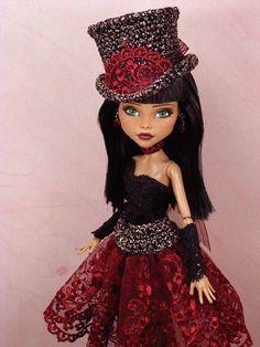 Faine - OOAK 1/6 Cleo De Nile Monster High Custom Dressed Repaint by Ellen | eBay  #doll #monsterhigh #custom