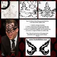Image result for how to make a wire mask?