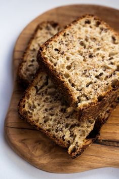 Grain Brain, Protein Bread, Food Hacks, Banana Bread, Easy Meals, Good Food, Food And Drink, Appetizers, Chocolate