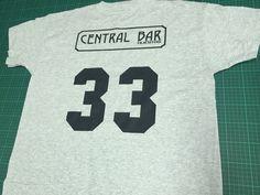 camiseta personalizada para central bar.