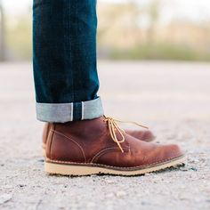 3ecae1593f92 15 Best Red Wing Heritage Chukka images   Leather boots, Leather ...