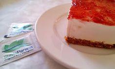 Συνταγές για διαβητικούς και δίαιτα: ΤΣΙΖΚΕΙΚ ΜΕ ΣΤΕΒΙΑ Cheesecake, Desserts, Food, Tailgate Desserts, Deserts, Cheesecakes, Essen, Postres, Meals