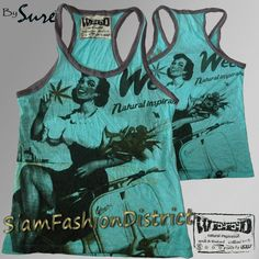 T shirt top Weed Sure Vespa Piaggio Marijuana Hippy Boho Thai Zen High Quality | eBay