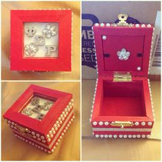 Phi Sigma Rho jewelry box! Can be used for badge or lavalier. I plan on putting some cloth on the inside as a cushion. :)