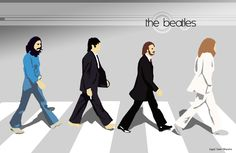 The Beatles Abbey Road by ~Likuado on deviantART