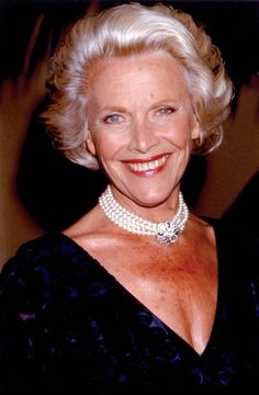 Honor Blackman as gorgeous as ever
