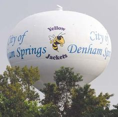 Newly painted water tower - The Livingston Parish News: News