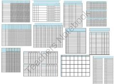 32 Data Collection Sheets Template Packet RTI IEP Progress Monitoring Standards Based  from The Math Magazine on TeachersNotebook.com -  (35 pages)  - 32 Data Collection Sheets Template Packet RTI IEP Progress Monitoring Standards Based