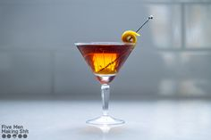 The Liberal   - 1 ½ oz rye - 1 oz sweet vermouth - ½ oz China China - 2 dashes orange bitters Orange zest twist  In an ice-filled mixing glass, add all liquids and stir well to chill and combine. Strain into a coupe. Zest a large piece of orange peel, twist to express the oils, and drop into the glass.