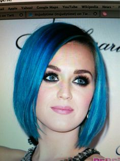 Katy Perry Blue Hair Tumblr