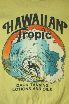 Vintage 80's Hawaiian Tropic T