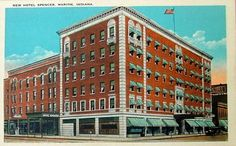 Hotel Spencer, Spencer Hotel, downtown Marion Indiana, Marion Indiana.  From Risa Benghazi Armagh.