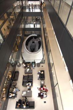 The Leslie L. Dan Pharmacy Building, University of Toronto, Canada 2002 – 2005 Foster Partners, Norman Foster, University Of Toronto, Pharmacy, Interior Architecture, The Fosters, Skyscraper, Dan, Home Appliances