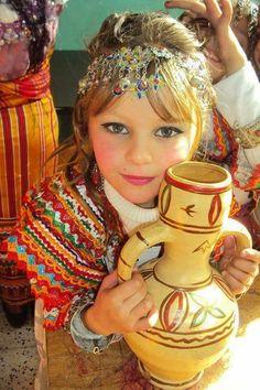 Enfant de Kabylie.