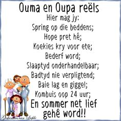 Oupa en Ouma... Afrikaanse Quotes, Kids Poems, Dad Quotes, Good Morning Wishes, Quote Posters, Bible Verses, Scriptures, Wise Words, Announcement