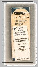 Arthitis Relief Homeopathic - 1 oz - Liquid by Dr. Goodpet. $9.99. Homeopathic. No side effects. Safe and effective. Long lasting. Helps ease pain. Arthitis Relief Homeopathic by Dr. Goodpet 1 oz Liquid Arthitis Relief Homeopathic 1 oz Liquid Helps Relieve Minor And Joint Pain. A natural medicine for Dogs Cats with no side effects. Suggested Use As a dietary supplement For 2 to 3 weeks administer 10-15 drops twice daily morning and evening in the mouth or in small amount...