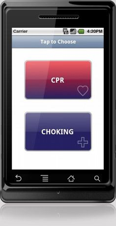 Even if you've taken a First Aid class recently, it can be hard to remember exactly what to do in an actual emergency. CPR-Choking provides clear instructional videos for CPR and choking First Aid, with separate videos for helping adults, children, and infants. All you have to do is open the app and then tap one large, clearly labeled icon to select the video you need—so you won't have to figure out complicated menus in the midst of a crisis